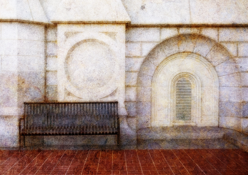 Salt Lake Temple Bench