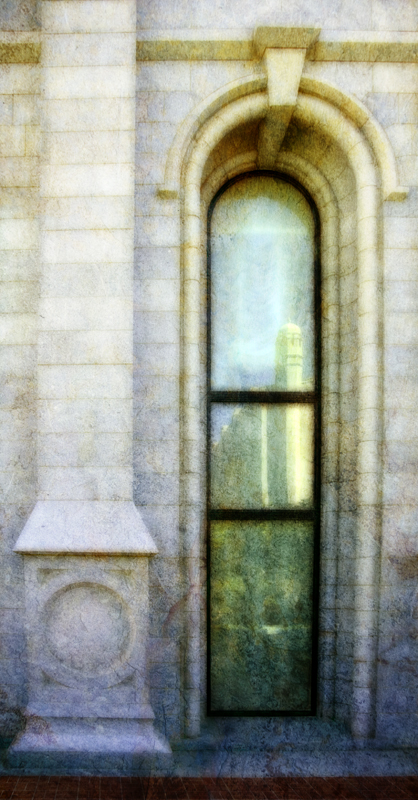 Salt Lake Temple Window