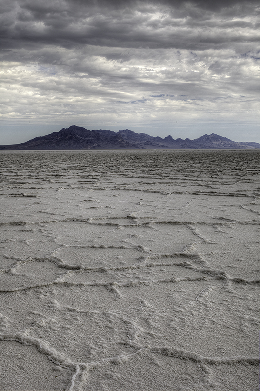 Salt Flats on a Stormy Day
